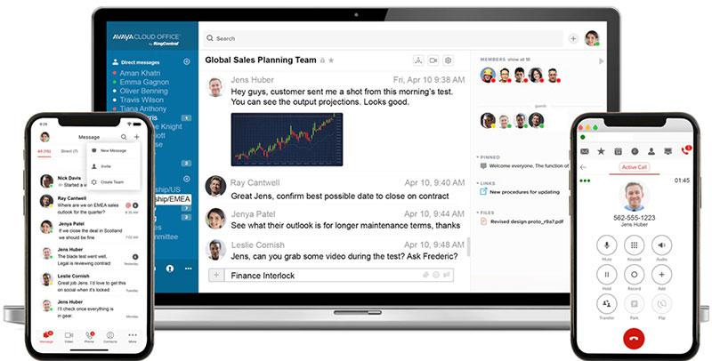 Avaya Cloud Office Voice Messaging